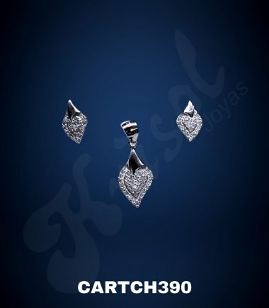 CONJUNTO CORAZON CON CIRCONES CHICO (CARTCH390)