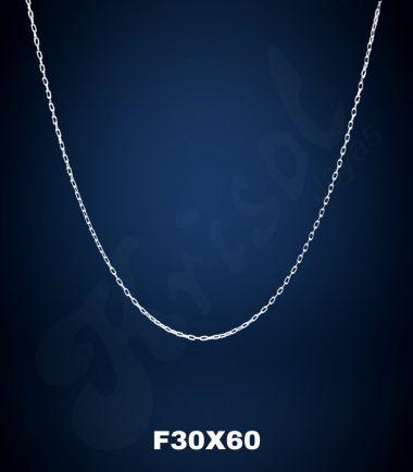 CADENA FINA 60 CMS. (F30X60)