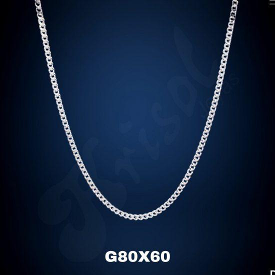 CADENA GRUMETT 60 CM. (G80X60)