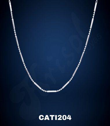 COLLAR PALITO BOLITA 3X1 45CM. 3.6GR. (CATI204)