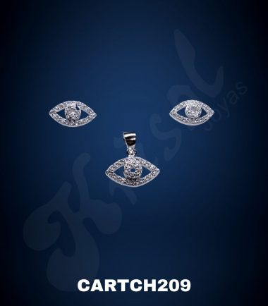 CONJUNTO OJO C/CIRCONES (CARTCH209)