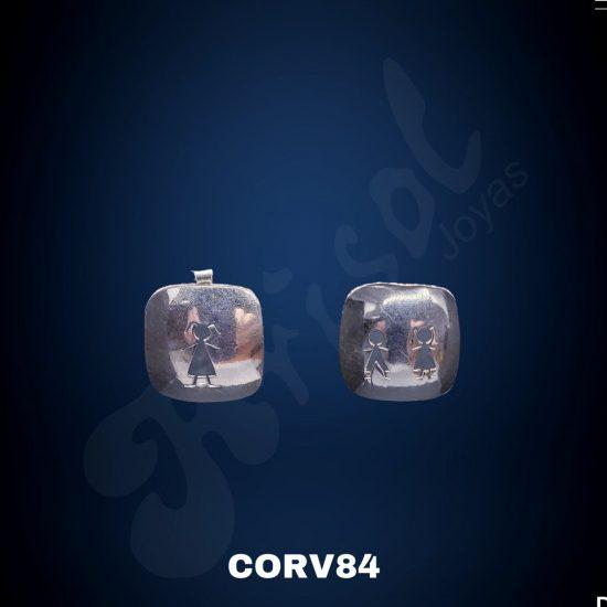 PLACA CALADA C/NIÑOS DE UNO Y DOBLE (CORV84)