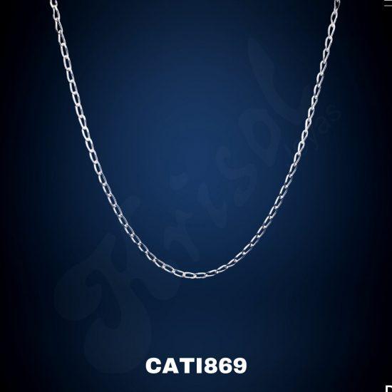 COLLAR ESLABON AMERICANO 60CM 2GR. (CATI869)