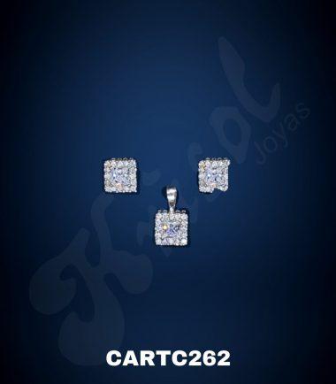 CONJUNTO CUADRADO LADY MINI (CARTC262)