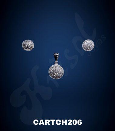 CONJUNTO REDONDO CON CIRCONES (CARTCH206)