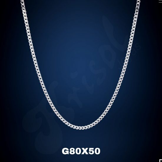 CADENA GRUMET 50 CM. (G80X50)