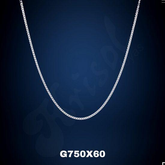CADENA GRUMET 60 CM. (G750X60)
